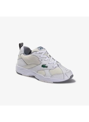 Lacoste Erkek Storm 96  Sneakers 739SMA0068.65T Beyaz